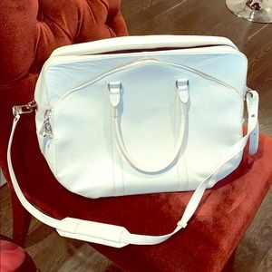 Alexander Wang White Leather Business Bag